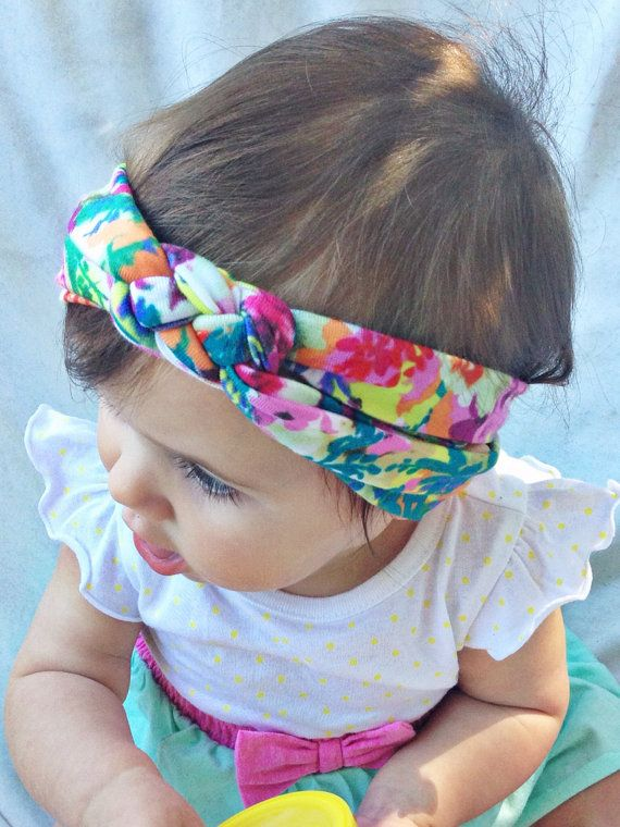 Floral Sailors Celtic Knot Headband By Turbansfortots On