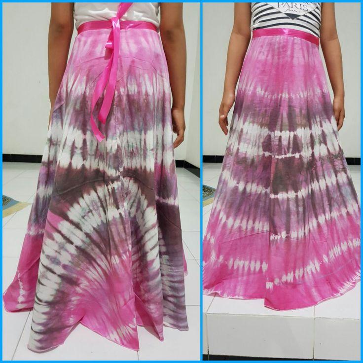 Tie dye skirt for my girl #self-made