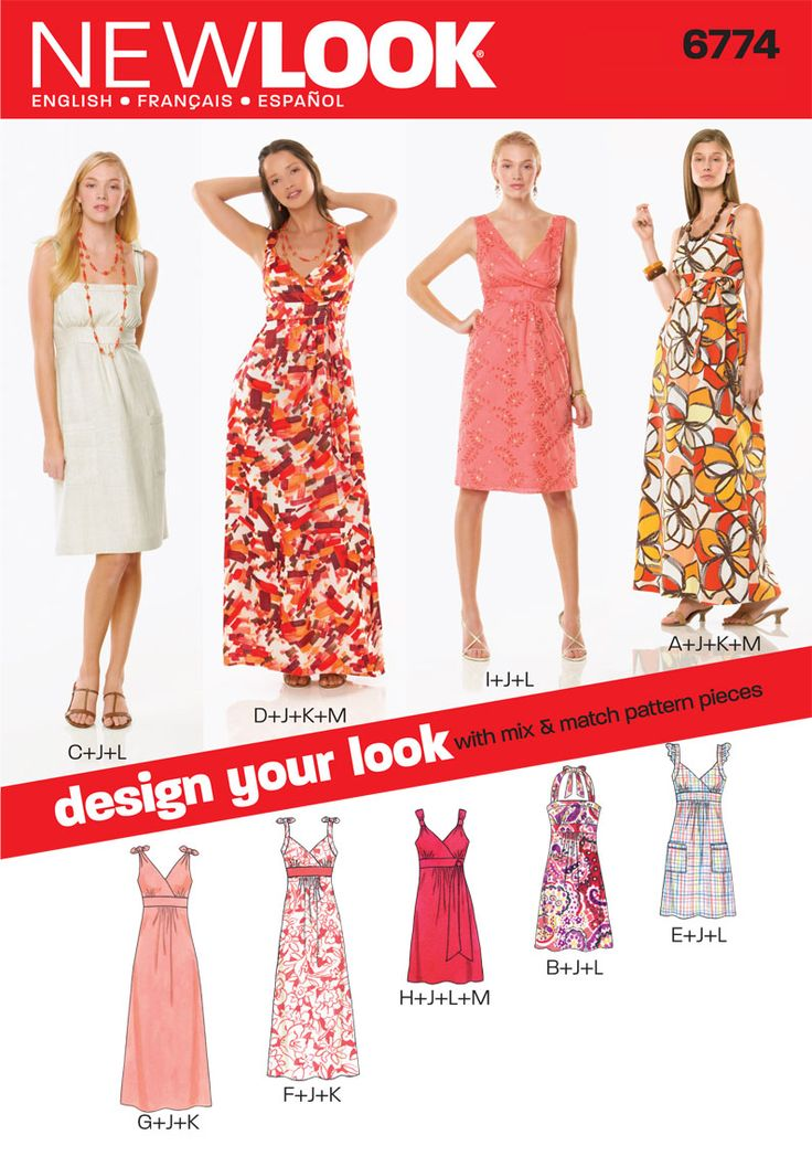415 best dress patterns images on Pinterest | Sewing patterns ...