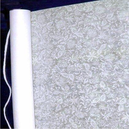 ITEM# AA - B62 French Lace Aisle Runner 100 feet $44.99 Make your indoor or outdoor wedding glamorous with a beautiful silk-screen printed