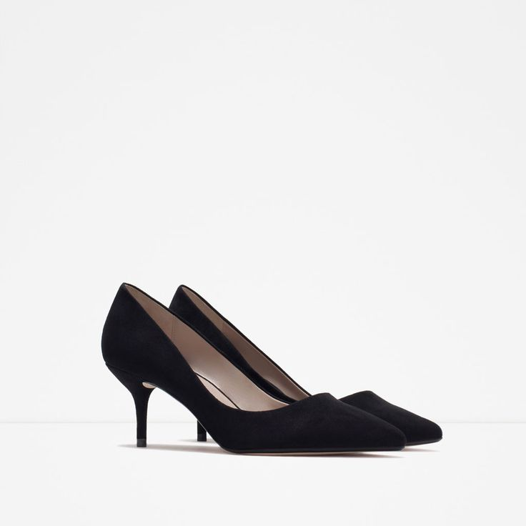 MEDIUM HEEL COURT SHOE-High-heels-Shoes-WOMAN | ZARA United States