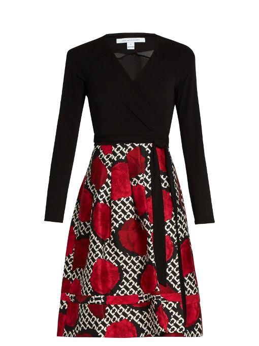 DIANE VON FURSTENBERG Jewel Two Dress. #dianevonfurstenberg #cloth #dress