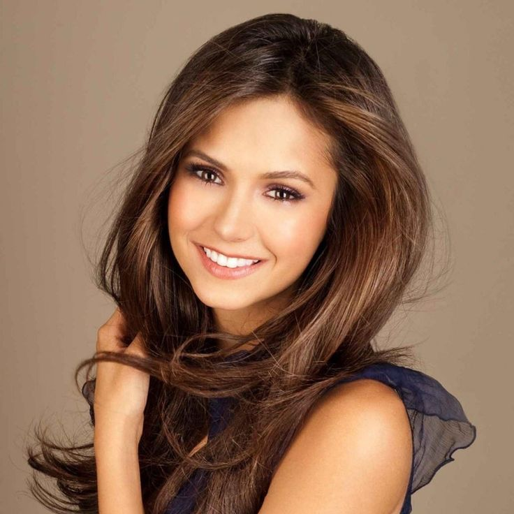 love her brunette hair and makeup #visiblechanges #SalonHouston #SalonDallas #SalonSanAntonio #Salon Austin