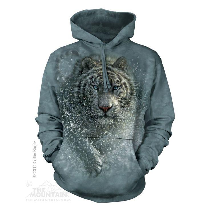 Wet & Wild felnőtt zsebes kapucnis pulóver