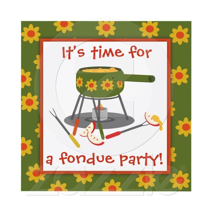 19 best Fondue party images on Pinterest | Fondue party, Birthdays ...