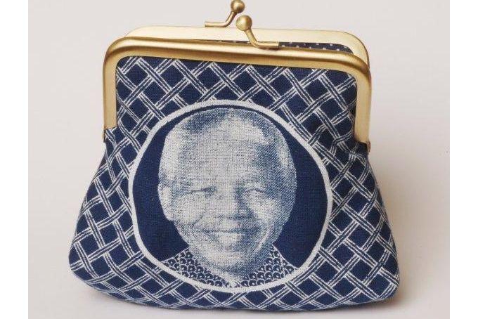 Clutch purse - Indigo Madiba Magic by Thunga