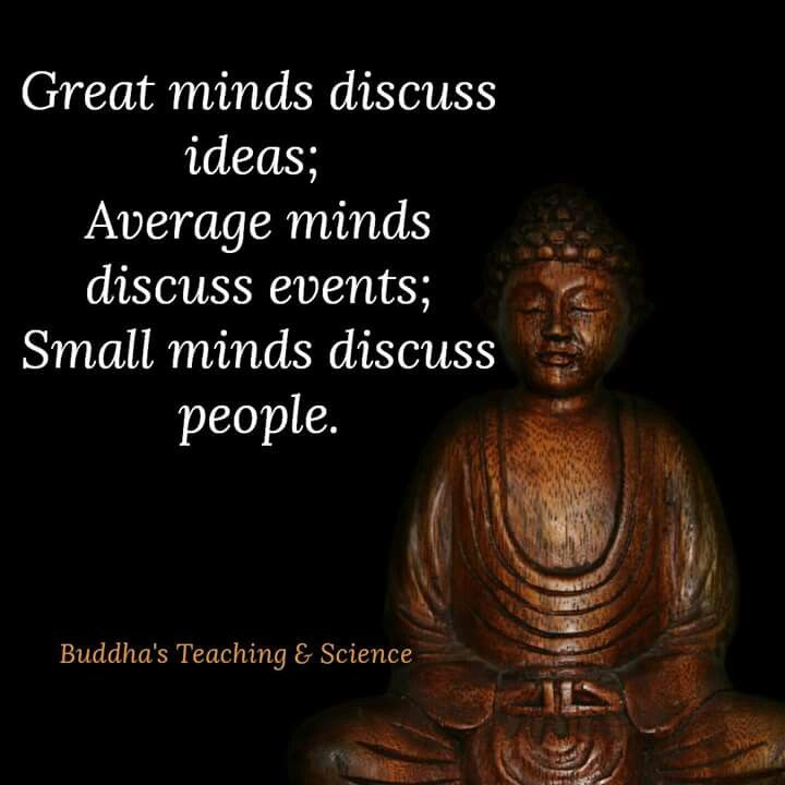 Great mind discuss ideas.