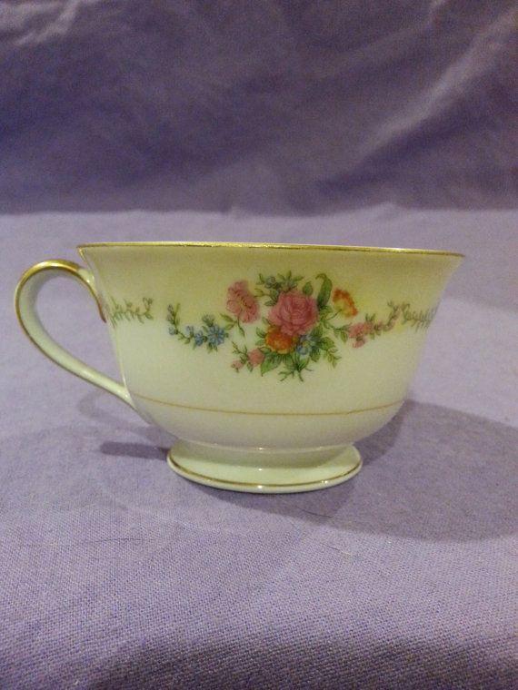 Vintage Imperial China Japan Noritake Teacup Tea Cup Fine