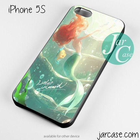 ariel little mermaid watercolor Phone case for iPhone 4/4s/5/5c/5s/6/6 plus