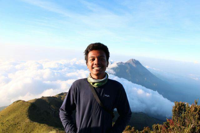 @merbabu peaks, Indonesia, the background is merapi peaks, May 29th, 2015
