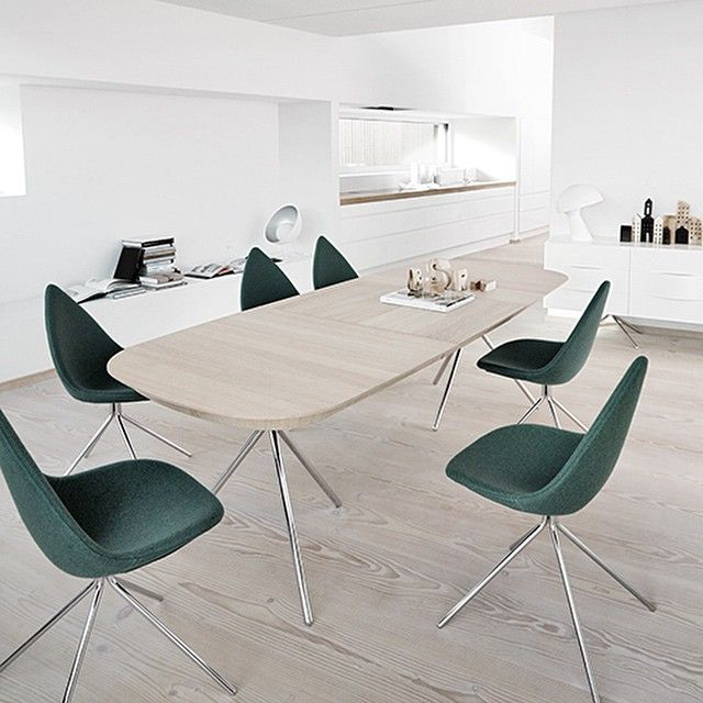 Welcome leaves and forests inside your dining room! Nature is what inspired Karim Rashid when he designed the Ottawa collection. Introduced in 2012, Ottawa is still one of our bestsellers. #BoConcept #danishdesign #karimrashid #dining