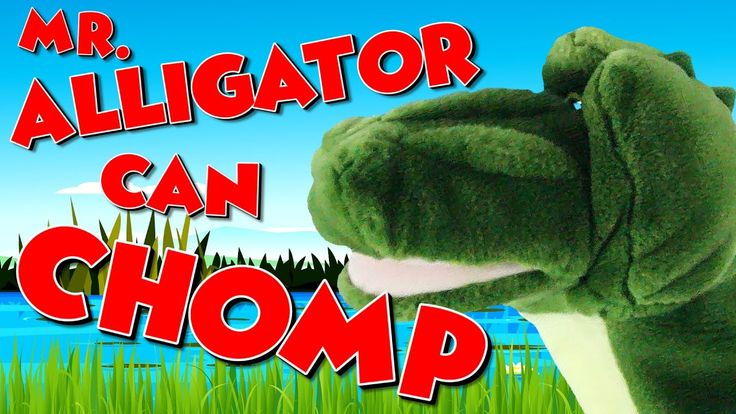 Mr. Alligator Can Chomp | Math Song for Kids | Less Than and Greater Tha...