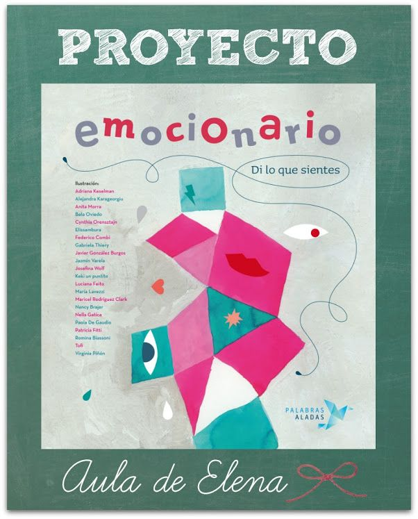 Proyecto de educación emocional Emocionario del blog Aula de Elena.