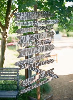 #A great way to let you guests know that you appreciate the distance they have travelled to get to your wedding! Thank you Matt Edge for the photo! Good idea for a family reunion too.  # We cover the world over 220 countries, 26 languages and 120 currencies Hotel and Flight deals.guarantee the best price multicityworldtravel.com
