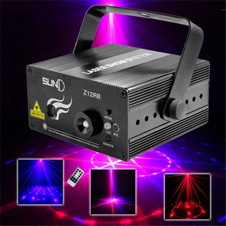 (94.00$)  Watch more here  - 12 Patterns Red Blue Wedding Stage Lighting Effect 300mW DJ Disco Laser Light Projector Party Christmas Holiday Show Lights