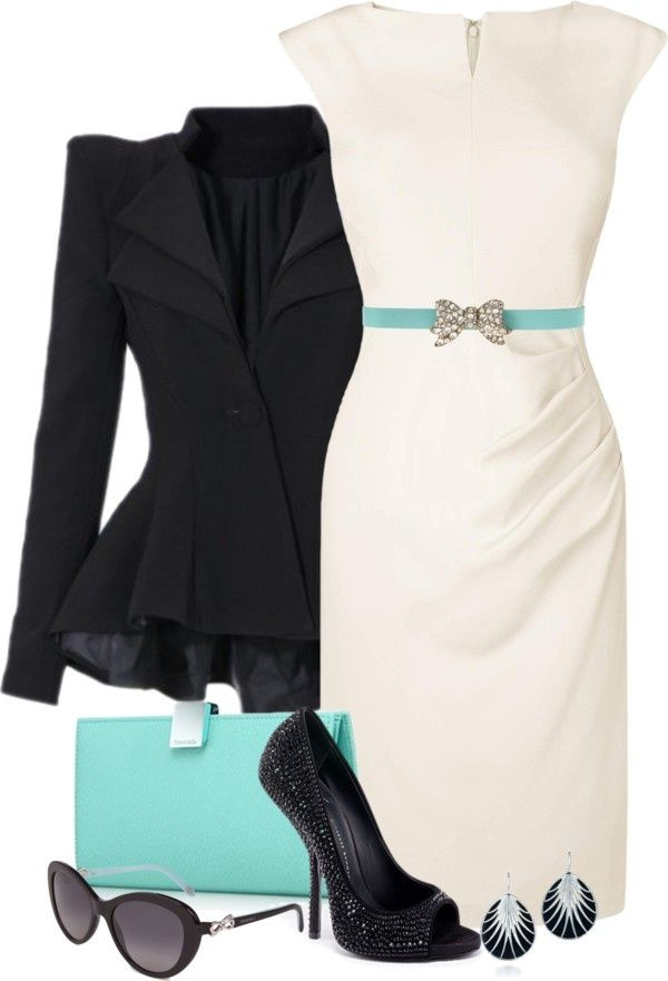 Black And White with Tiffany Blue