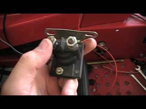 How to rewire a riding lawn mower super easy - YouTube