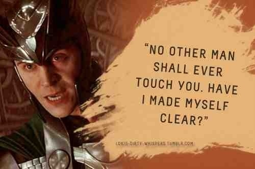 Loki whispers - no other.