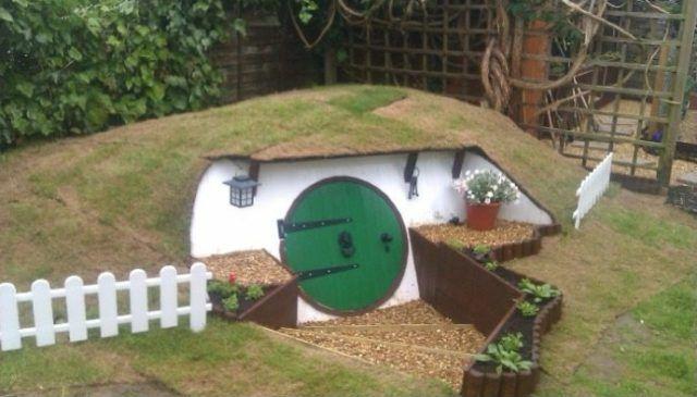 Build A Hobbit House In Your Backyard Hobbit Hauser Hobbithaus
