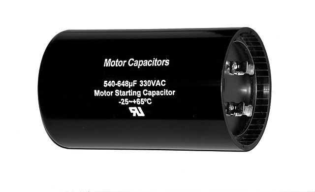 Start Capacitor Capacitor Capacitors Electronics Components