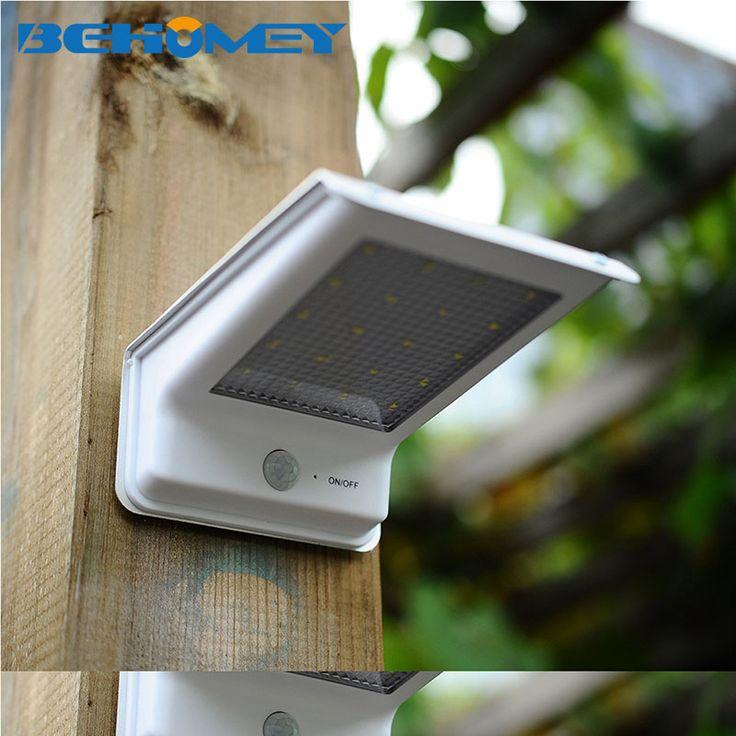 Heißer 49LED Solar Licht ultradünne Drahtlose PIR Bewegungssensor Solar Lampe Ip65 Wasserdichten outdoor-wandleuchte Balkon Garten lichter