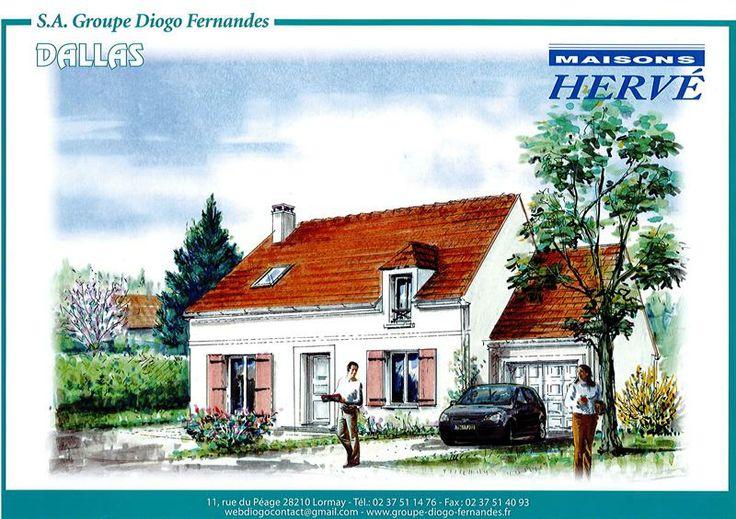 Maisons Hervé modèle #Dallas #diogo http://www.diogo.fr/annonces-immobilieres/annonce/11/maison-4-piegraveces/