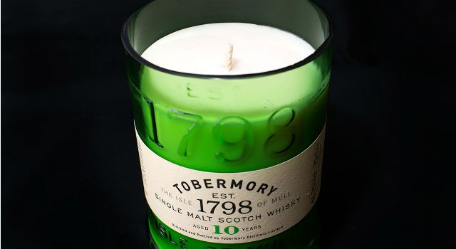 Made in Scotland Magazine | Features + archive | Unique Candles for Whisky-lovers