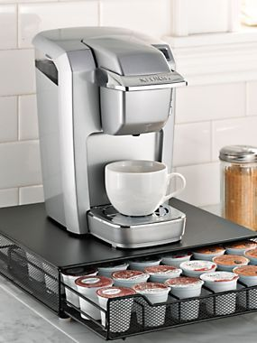 Rolling Coffee Pod Drawer K Cup Countertop Storage