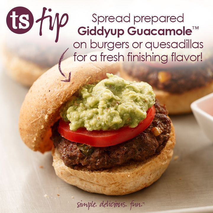 ... on burgers or quesadillas for a fresh, finishing flavor! #CookingTip