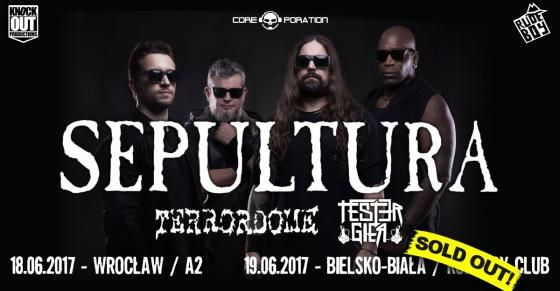 Heavy Metal Music & More  : Sepultura: czasówka polskich koncertów