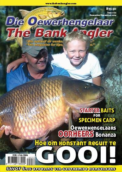 Bank and Bass Angler. Fishing. Afrikaans.