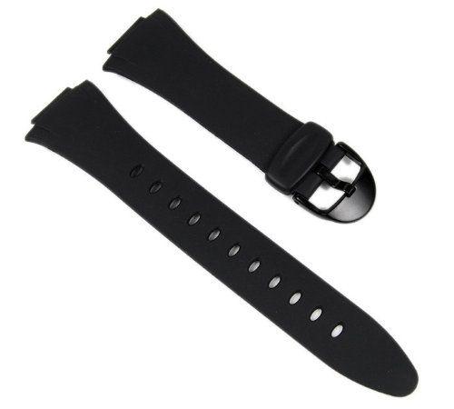 Casio Black Resin Genuine Replacement Band for F-E10 Series - OEM. Casio watch strap watchband Resin Band black for F-E10-1 F-E10 Produktbeschreibung: Casio BandNr.: 10057292 match: F-E10-AW* F-E10-BW* F-E10-* Band width innen: ca. 15 mm Band width fromen: ca. 26 mm Armbandmaterial: Resin Armbandfarbe: black Armbandschließe: blacke plastic buckle SchließenWidth: ca. 18 mm Armband Stärke: ca. 1,5 mm Armbandlänge: bis ca. 180 mm (im geschlossenen Zustand) Im Lieferumfang befindet sich ein...