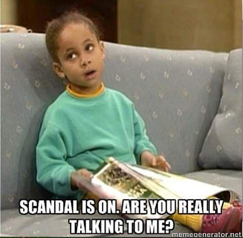 ABC Scandal Meme   Scandal' finale: ABC show's closing episode induces shock, swoons and ...