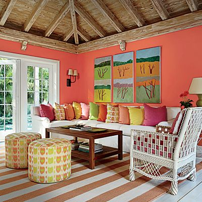 17 best ideas about coral walls on pinterest coral pink for Coral walls living room