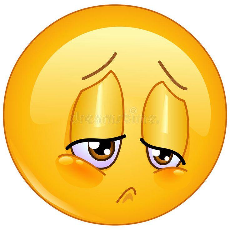 Download Emoticon da amargura ilustração do vetor. Ilustração de miséria - 73043520