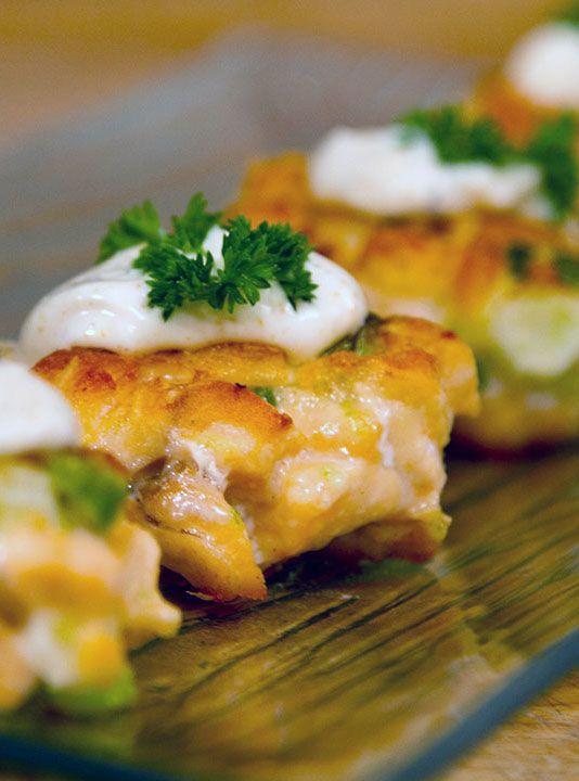 galettes de saumon