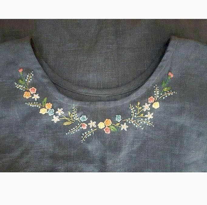 Embroidery Hoop Necklace during Embroidery Thread Lot or