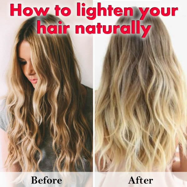 How to lighten dark brown hair naturally without sun the best how to get natural looking beachy highlights naturally lighten pmusecretfo Images