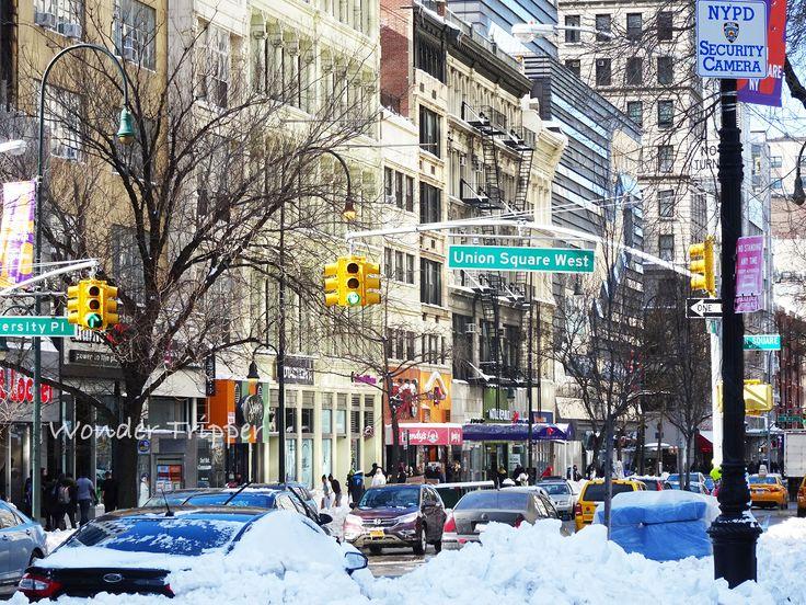 New York City Snowstorm Jonas. The Aftermath.