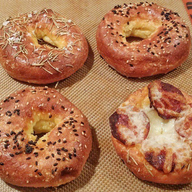 These keto breakfast bagels might become your next favorite breakfast treat. try them with blueberries, or cream cheese.