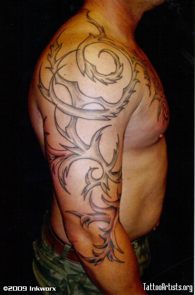 17 best rose vine tattoos for men images by tattoomaze on