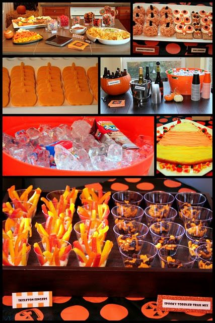 Toddler Halloween Party Ideas Food