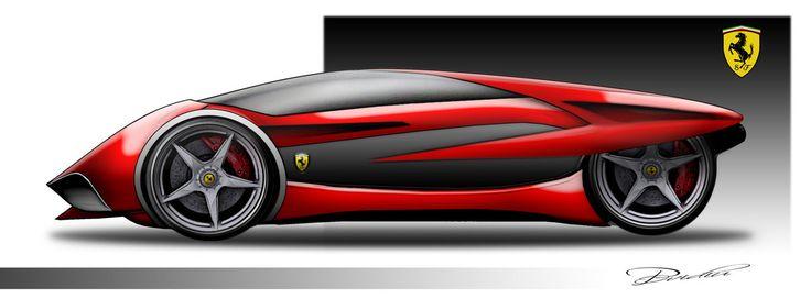 Ferrari Concept by ovidiuart.deviantart.com on @DeviantArt