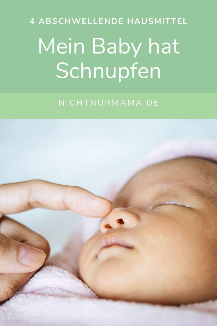 Baby 4 Wochen Schnupfen