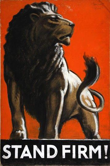 British WW II propaganda artworks released on wikipedia - via The Telegraph