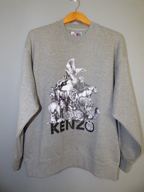 Sweat jungle Kenzo Memento collection 1 | Sweat kenzo, Pull