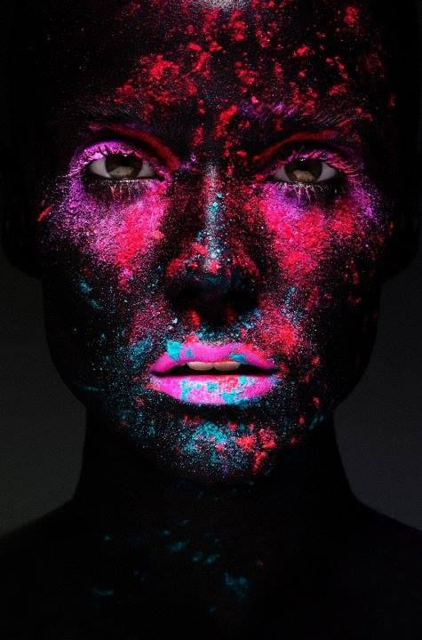 #Makeup artist Rae Morris, photographer Richard Bailey