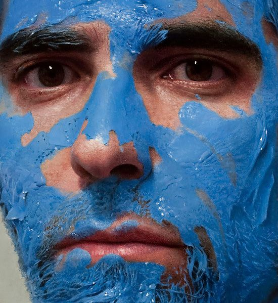 Yes, these are paintings! Hyper-Realistic Self-Portraits by Eloy Morales