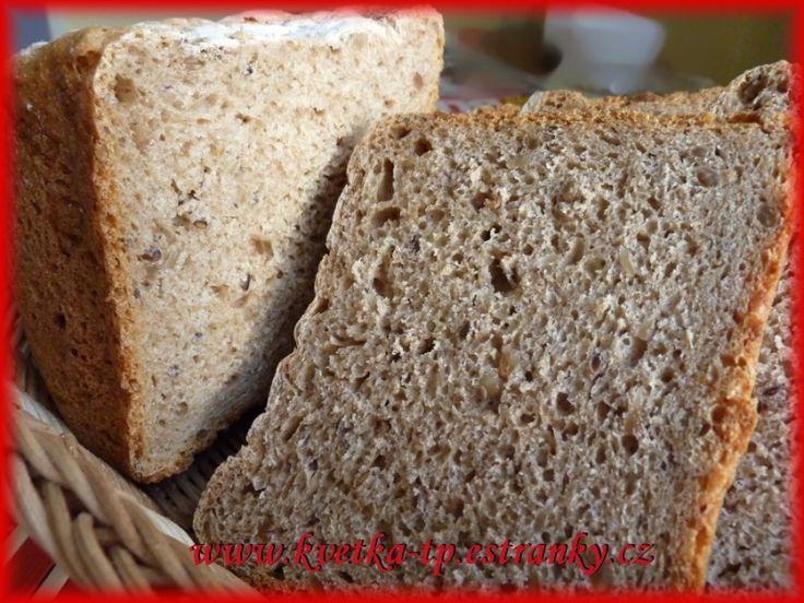 1531. 100% celozrnný chleba od kvetka.tp - recept pro domácí pekárnu