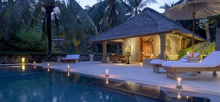 Spacious stilted villas offer exceptional views from their hillside locations…